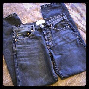 WE THE FREE High-Waisted Vintage-Fit Jeans (NWOT)